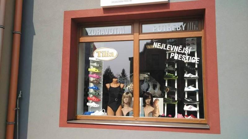 Prodejna zdravotní obuvi a potřeb Tilia